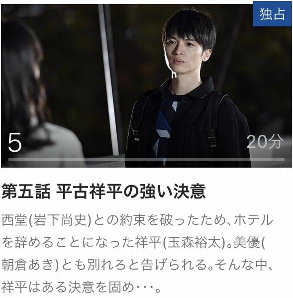 グラグラメゾン東京 5 見逃し 動画 全話 無料 Paravi パラビ オリジナル
