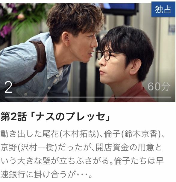 2 グランメゾン東京 動画 無料 見逃し 再放送 パラビ Paravi